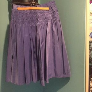 Periwinkle midi skirt in excellent condition